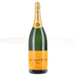 Veuve Clicquot Ponsardin – Yellow Label – Brut NV Champagne – 3 Litre Jeroboam