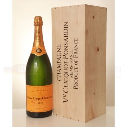 Veuve Clicquot Ponsardin – Yellow Label – Brut NV Champagne – 6 Litre Methuselah